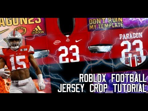 Roblox Paragon23 Jersey Crop And Backplate Tutorial Youtube