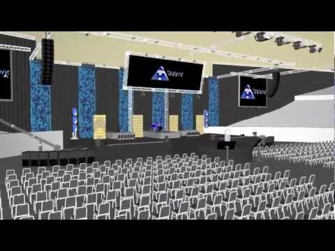 Tri-Hawk Media Convention Center Design