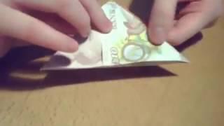 $/£ Peace Dove - Origami