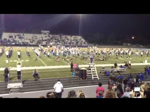 Ocean Springs High School Blue Grey Pride Band Halloween 20