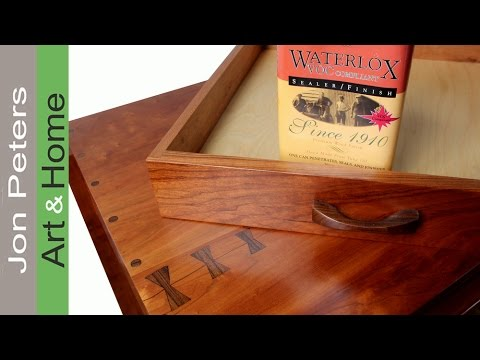 Applying Waterlox Satin Finish