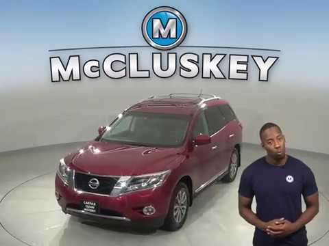 A15354GP Used 2013 Nissan Pathfinder SL 4WD Red SUV Test Drive, Review, For Sale -