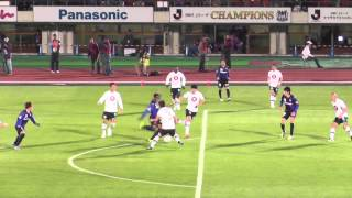 2014 03 19 ナビスコ杯 G大阪vs神戸 リンス初ゴール