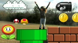 Super Mario in Real Life
