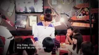 CNBLUE T.G.I Friday's Brand Song [Friday]
