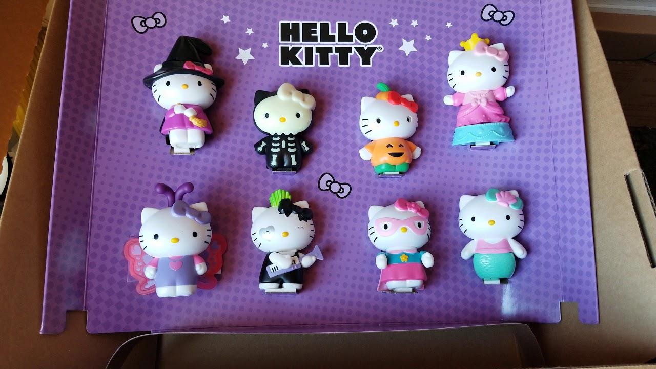 Mcdonalds Hello Kitty Pokemon Happy Meal Toys October