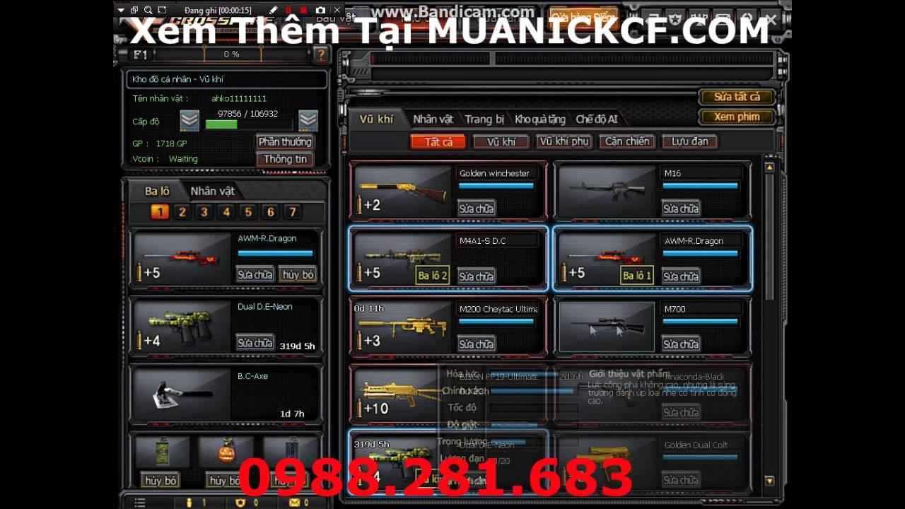MuaNickcf.com Mua nick cf vip giá rẻ uy tín ...