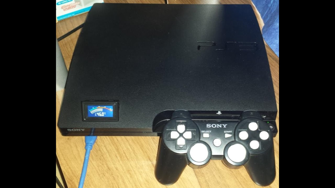 PS3 Limited Edition + Temperatur Display + 640Gb + CFW + Extras ...