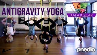 """Kafa Kızlar Antigravity Yoga deniyor! """"Gülben Ergen gibi olacağım birazdan!"""" (1. Bölüm)"""