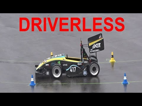 FSG 2017 - Driverless Trackdrive - KA-RACING, STARKSTROM AUGSBURG, AMZ