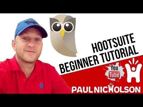 How To Use Hootsuite For Beginners Tutorial - Social Media Tools Marketing Management for Business