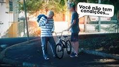 COMPREI UMA BIKE VESTIDO DE MENDIGO ( FUI HUMILHADO ? )