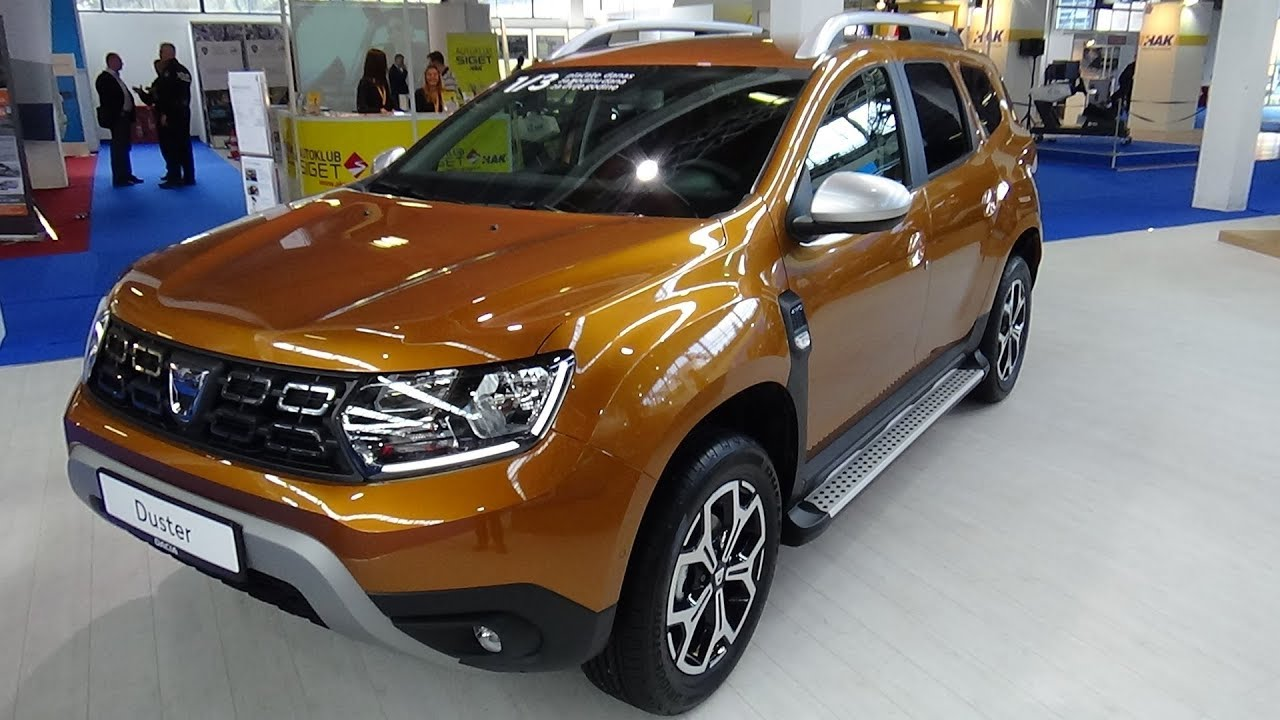 2018 dacia duster prestige 1 5 dci 110 4x4 exterior and. Black Bedroom Furniture Sets. Home Design Ideas