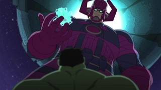 "Hulk and the Agents of S.M.A.S.H. Season 1 Episode 15 ""Galactus Goes Green"" Clip"