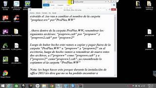 Solucion al problema de Microsoft Professional Plus 2007,2010 y 2013 (ProPlus.WW/ProPlsWW.cab)