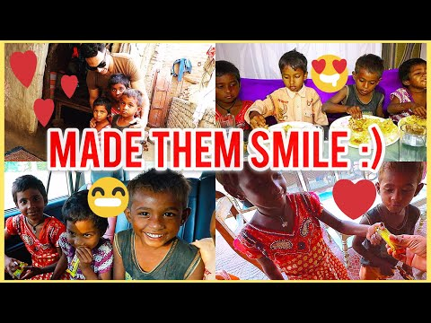 Took SLUM KIDS for LUNCH | Made them smile | 2018 | Social Work