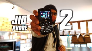 [HINDI] Jio Phone 2 Review after use for long term Plus Unboxing @Jio