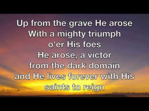 Christ Arose Lyric Video