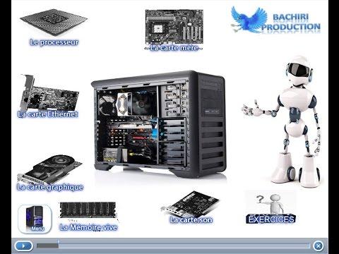 un ordinateur Un ordinateur est une machine capable d'effectuer toute sorte d'opération et de traitement tel que des calculs, maniement de textes et d'images par exemple.