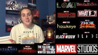 Marvel Studios PHASE 4 SDCC Panel Reaction!