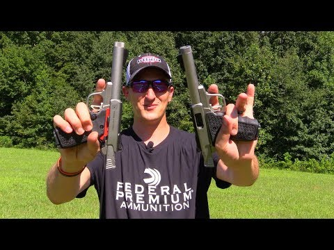 Dual Wielding Smith and Wesson Victory Trick Shots