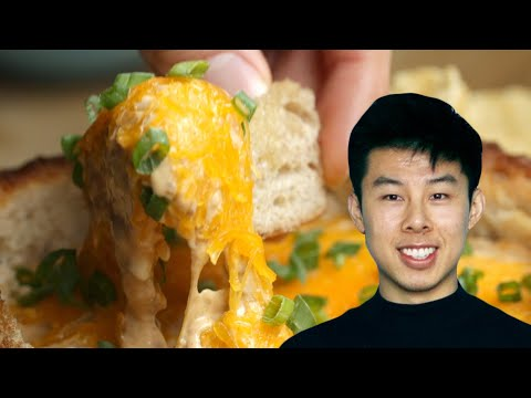 How To Make A Chili Dip Bread Bowl Recipe By Alvin • Tasty