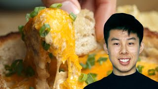 How To Make A Chili Dip Bread Bowl Recipe By Alvin •Tasty