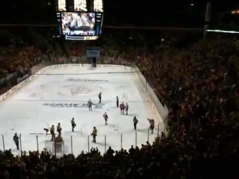 Nashville Predators Catfish Toss