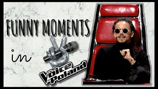 Michał Szpak- Funny moments in The Voice of Poland #5