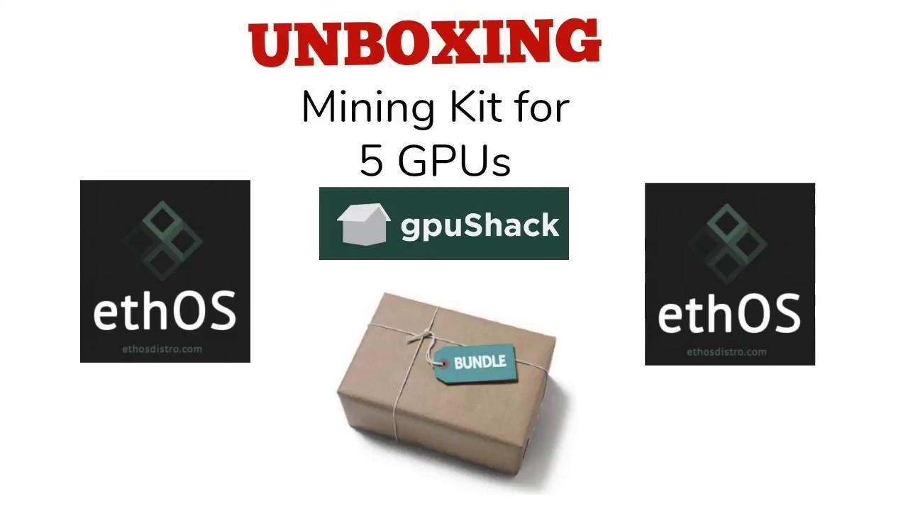 Unboxing gpuShack Motherboard Kit for 5 GPUs