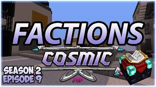 Minecraft Factions | Cosmic PVP | w/MineGunGamer | Season 2 #9 | Enchanting Stuff
