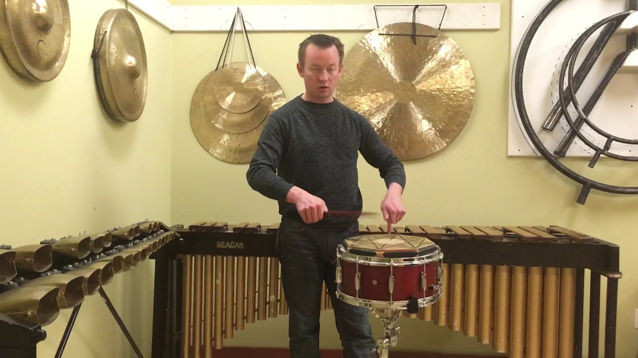 instructional video the orchestral snare drum roll youtube. Black Bedroom Furniture Sets. Home Design Ideas