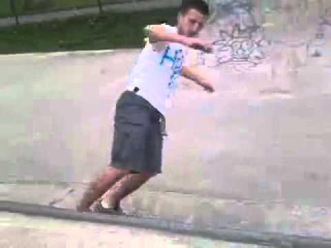 Adam Jessop – Halfpipe Run «