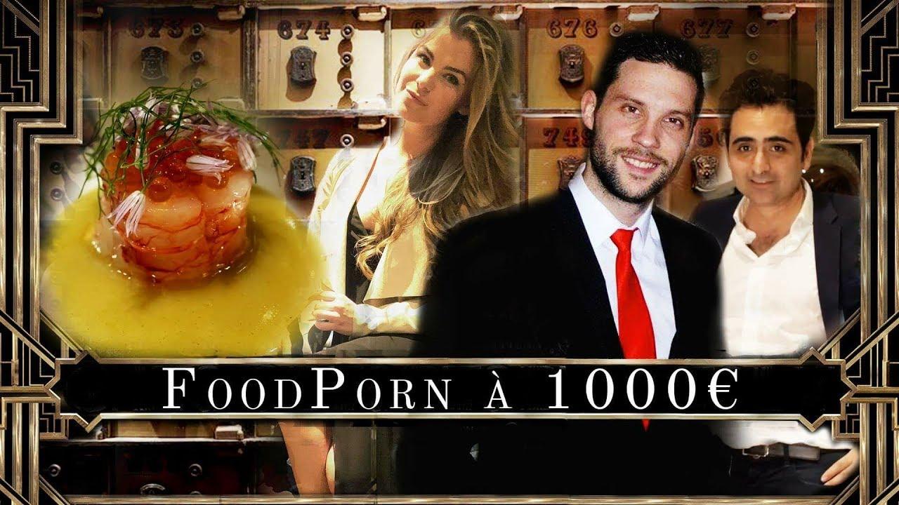 Menu a 1000€ FoodPorn avec Nad Rich'Hard - Nouveau Concept.