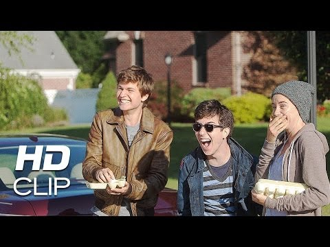 The Fault in Our Stars | Hazel, Gus and Isaac Egging | Clip HD