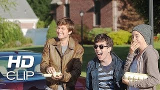 the fault in our stars hazel gus and isaac egging clip hd