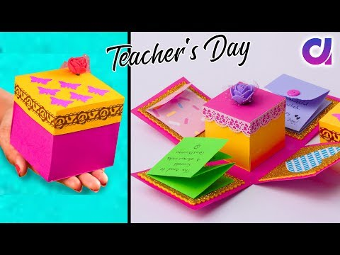 DIY Teacher's Day Explosion Box Idea | Handmade Gift Idea | Artkala