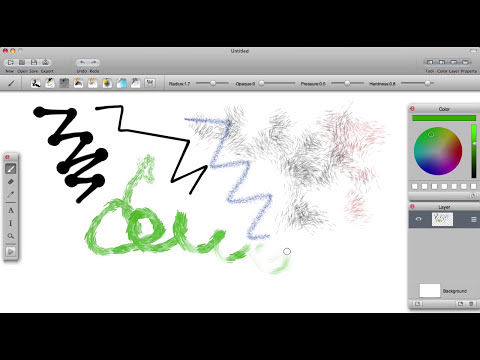 The most popular painting, drawing, illustration app for Mac, iPad, iPhone.