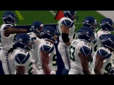 Madden NFL 25 1989 thru 2014 Super Bowl 48 Seattle Seahawks vs Denver Broncos
