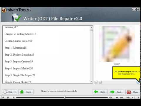 Easily Repair And Restore Corrupt Odt Files