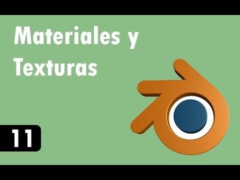 Tutorial De Blender - 11 - Materiales Y Texturas