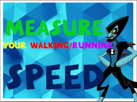 How to measure your running or walking speed