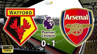 Watford vs Arsenal 0-1 | Premier League 2018/19 | Matchweek 34 | 15/04/2019 | FIFA 19