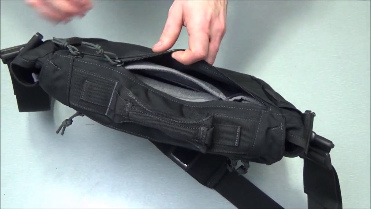85dc862b3da1 EDC Bag By First Tactical Summit Side Satchel - YouTube