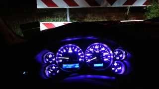 08 Silverado complete interior blue led Conv.