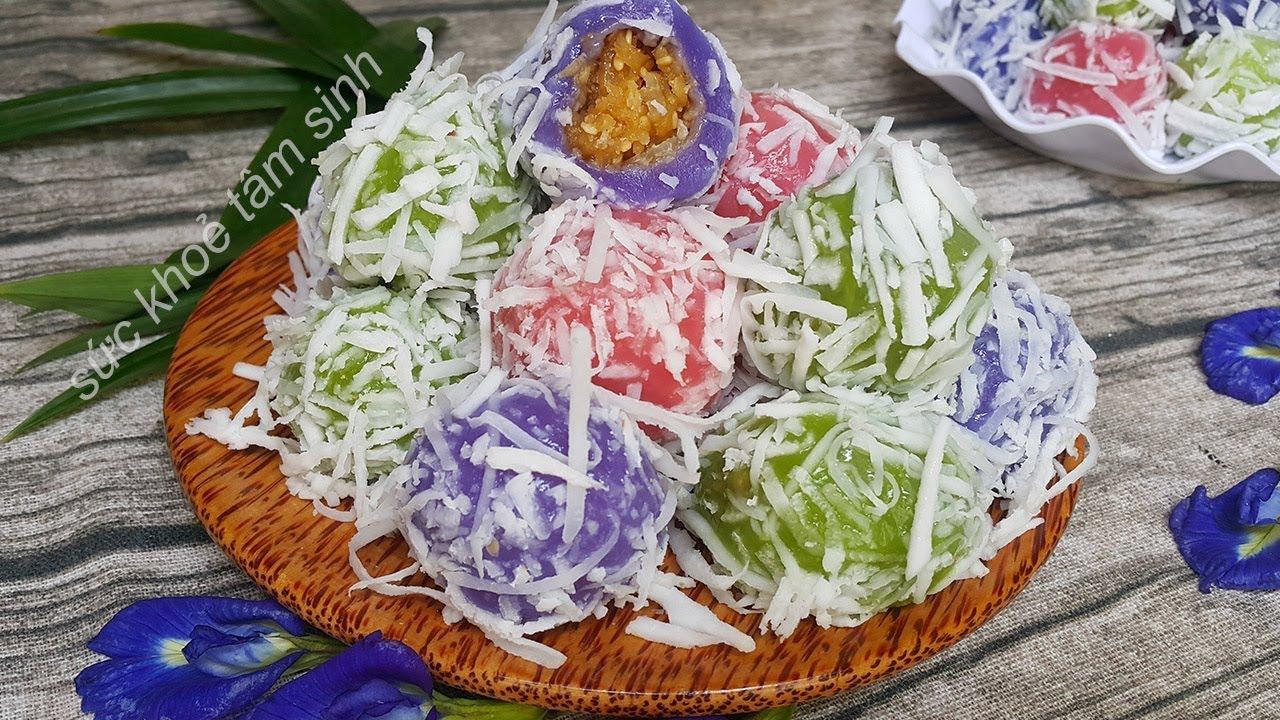 Hãy một lần thưởng thức Bánh Nếp kiểu Thái Tam Sắc