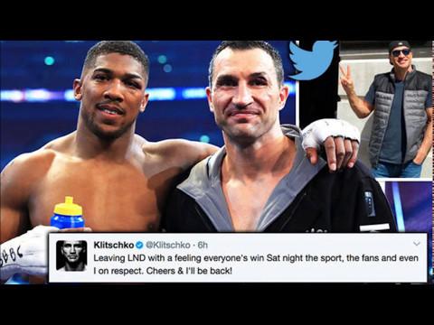 Anthony Joshua vs Wladimir Klitschko Rematch Looks Highly Likely!