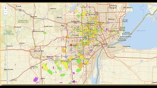 DTE Energy Power Outage Status -Over 250,000 without Power in Michigan