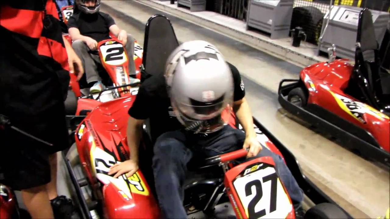 moa kart Indoor Go Karting at the MSI MOA Overclocking Event @ CES 2011