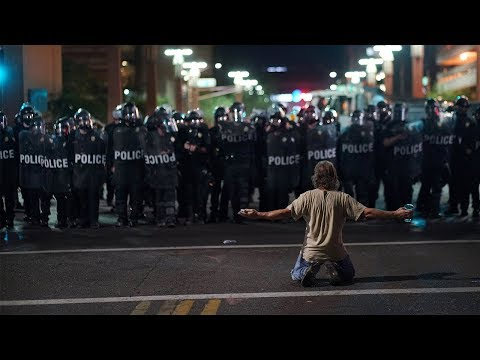 Clashes erupt as US president slams critics in Phoenix, Arizona